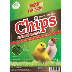 Chips extrusionado green formula