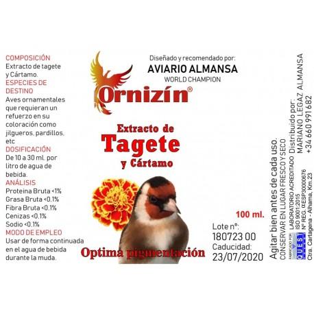 Extracto de Tagete y Cártamo Ornizín