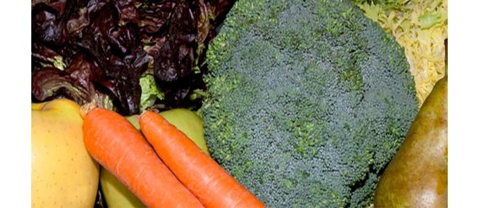 El uso de frutas y verduras