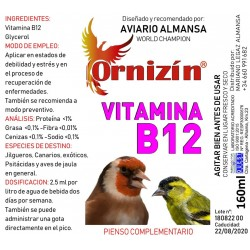 Vitamina B12 Ornizín