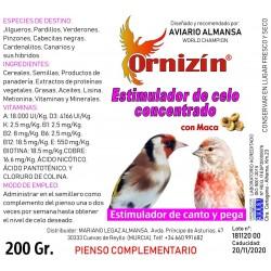 Estimulador de Canto y Pega Ornizín