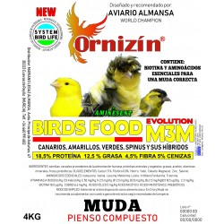 Ornizín Birds Food M-3M