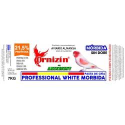 Professional White Morbida Ornizín